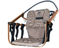 Lone Wolf Treestands Sit and Climb Foam Pad Seat, Stabilizer Straps, Quiet, M...