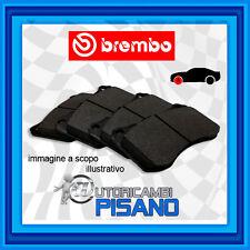 P68010 4 PASTIGLIE FRENO ANTERIORI BREMBO NUOVE & ORIGINALI