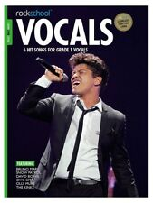 Rockschool Vocals Grade 1 Male Audio Download 2014-2017 Syllabus MUSIC BOOK