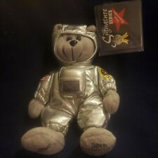 Classic Collection Buzz Aldrin Bear in Astronaut Suit Signature Series Edition