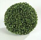 BOSSO SFERA BUXUS BICOLOR A PALLA pianta ARTIFICIALE 38 CM decorazione vaso vasi