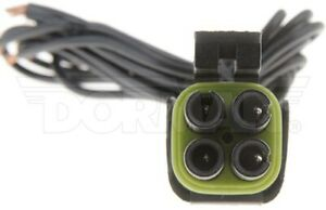 Idle Air Control Valve Connector Fits 90 96 Chevrolet K1500 Pickup C1500 Pickup