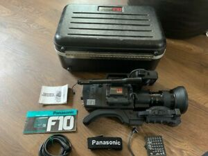 Panasonic F10 ccd professional video camera, with case