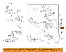 TOYOTA OEM Console-Adapter 8619012020