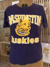 Vintage 90's Starter Washington Huskies Shirt Sz Small