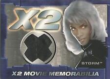 """X-Men United X2 - STITCH VARIANT """"Storm"""" Memorabilia Costume Card"""