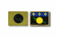 pins pin's flag national badge metal lapel backpack hat button vest guadeloupe