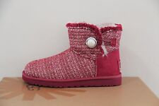 Ugg Australia  Women's Mini Bailey Button Fancy Boots Size 6 NIB