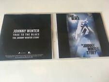 Johnny Winter PROMO 4x CD SET True To The Blues : The Johnny Winter Story