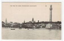 Harbor View Provincetown Cape Cod Massachusetts postcard