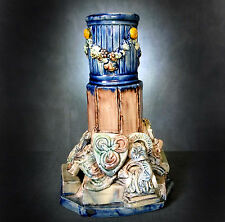 STUNNING RARE & VERY UNUSUAL LARGE CASTLE HEDINGHAM VASE