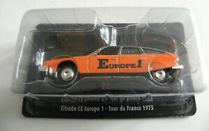 Miniature 1/43 Tour de France 1975 CITROEN CX Europe 1