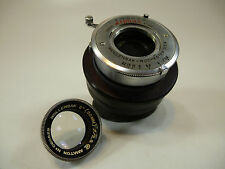 "Wollensak Alphax Shutter Assembly w/ 50MM (2"") F/2.8 Amaton Lens No C60529"