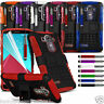 Anti Shock Proof Dual Layer Kick Stand Builder Case✔LG G4 H815