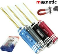 Powerhobby Metric Hex Driver Wrench Set Magnetic (4) (1.5, 2.0, 2.5, 3.0)