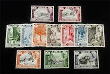 nystamps British Aden Shihr & Mukalla Stamp # 29-40 Mint Og Nh $32 J15y1866