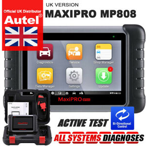 Premium! AUTEL MP808 DS808EU Diagnostic Tablet Computer FULL System Scan Tool UK