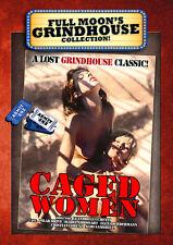 Full Moon's Grindhouse: Caged Women DVD 1970 Tess Drake, Nan Beal, Mary Steige