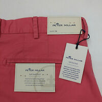 Peter Millar Soft Touch Twill Men's Golf Shorts Size 35 36 38 40 Pima Cotton