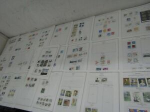 Nystamps Sweden large stamp collection Album page high value
