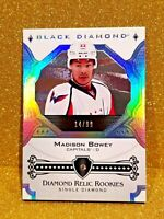 2017-18 MADISON BOWEY Upper Deck Black Diamond Relic Rookies /99 Rookie CLEAN