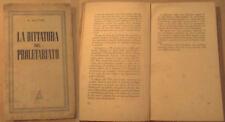 "KAUTSKY "" LA DITTATURA DEL PROLETARIATO "" ATLANTICA  1944"