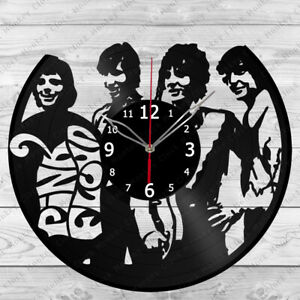 Vinyl Clock Pink Floyd Vinyl Record Wall Clock Home Art Decor Handmade 5743
