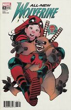 All New Wolverine #35  Elizabeth Torque Deadpool Variant Cover   VF/NM