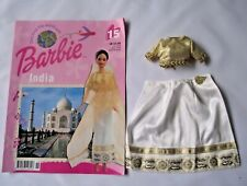Barbie Doll Clothes Discover The World Magazine & Clothes No 15 India