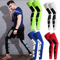 CFR Men Women Compression Socks Knee High Support Stockings Leg Thigh Sleeve UD