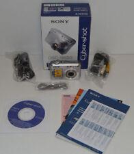 Boxed Silver Sony Cyber-shot DSC-S650 7.2 Mega Pixels Digital Camera VGC