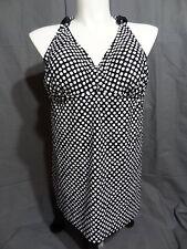 Lane Bryant wire free lined cup one piece swimwear dress size 24
