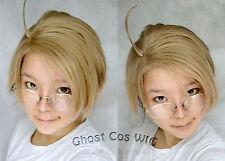 APH Axis Powers Hetalia Cosplay US America Cosplay Costume Hair Wig+Free Wig Cap