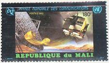 MALI 1983 964 475 World Communication Year Satellite Antenne Space Weltraum MNH