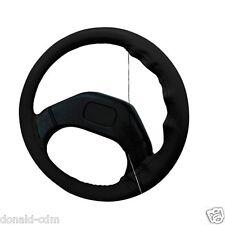 Cubierta del volante en conjunto,piel natural L ø 37/39 cm Negro,fácil costura