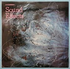 BBC SOUND EFFECTS No.9 ~ UK 10-TRACK STEREO LP ~ BBC RED 164S [80's PRESSING]