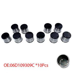 10X Fuel Pump Tappet Cam Follower For Audi A4 TT VW Golf Passat 2.0L 06D109309C