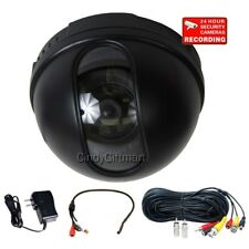 Dome Security Camera Wide Angle Surveillance with SONY CCD Audio Microphone 1VM