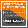 Unlimited Pages - Amazing Website Design - Hosting & Domain Included!