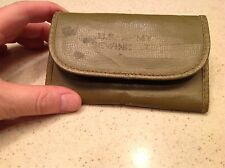 Vintage Military U. S. Army Sewing Kit Vinyl like Nice Condition For Age Green