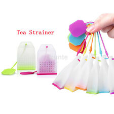 Creative Bag Style Silicone Tea Strainer Herbal Spice Infuser Filter Tea Maker S