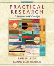 Practical Research :Planning and Design  Paul D. Leedy/Jeanne Ellis Student Ed