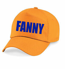 FANNY Printed Baseball Cap Hat Funny Joke Drink Beer STAG NIGHT - Irn Bru advert