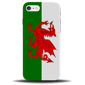 Wales Flag Phone Case Cover | Welsh Vintage Gift Present Flags St Davids B776