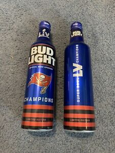 Tampa Bay Buccaneers SUPER BOWL CHAMPIONS BUD LIGHT Empty Bottle Ready To Ship