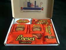 Reese's Gift Box White Cup, 3 Cup, Big Cup, Pieces, Sticks 6 Items US Import
