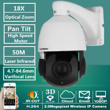 Full HD 1080P CCTV IP Camera 18X Optical Zoom Security PTZ Speed Dome Waterproof