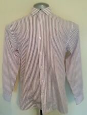 Jack Reid (BHS) Size 14.5 / 37 Striped Button Cuff, Cotton Rich Non Iron, Shirt