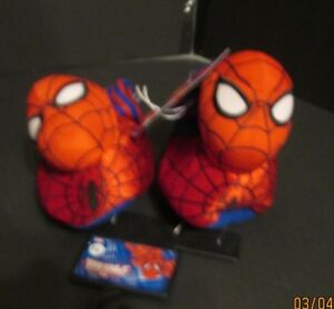 SPIDERMAN SLIPPERS  5-6 NEW WITH TAG CUTE