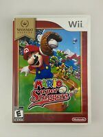 Mario Super Sluggers - Nintendo Wii Game - Complete & Tested